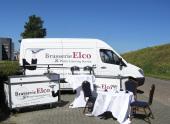 De bus en biertaps van Elco Catering