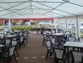 inrichting tent